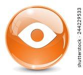eye icon design   Shutterstock .eps vector #244229533