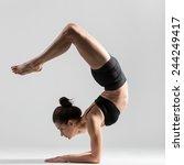 Beautiful Sporty Yogi Girl...