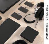 mockup business template. high... | Shutterstock . vector #244331017