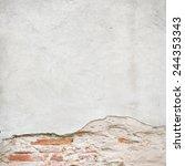 Broken Wall Texture Background