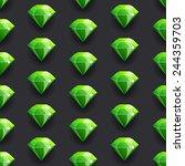 diamond green vector pattern...