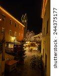 christmas market  vipiteno ... | Shutterstock . vector #244375177