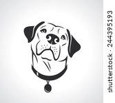 Labrador Retriever Dog   Vecto...