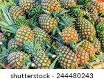 Pineapple Or Ripe Pineapple ...