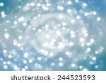 christmas background. the... | Shutterstock . vector #244523593