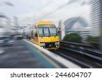 sydney moving train | Shutterstock . vector #244604707