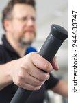 male in gym   Shutterstock . vector #244633747
