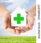 care  help  charity and people... | Shutterstock . vector #244680397