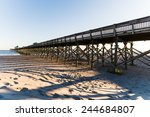 A Long Pier At Folly Beach ...