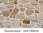 stone wall background texture | Shutterstock . vector #244730653