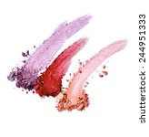 collection of various make up... | Shutterstock . vector #244951333