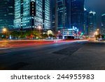the road in the city | Shutterstock . vector #244955983