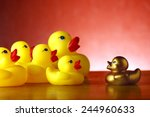 Rubber Duckies And A Golden...