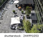 modern terrace    Shutterstock . vector #244991053