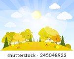 Autumn Landscape Mountain...