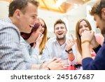 image of business friends... | Shutterstock . vector #245167687