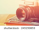 close up photo of old camera... | Shutterstock . vector #245250853
