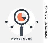 data analysis | Shutterstock .eps vector #245268757