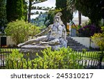 Statue Of Wounded Achilles In...