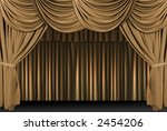 old fashioned  elegant theater... | Shutterstock . vector #2454206