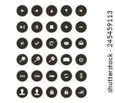webdesign elements icon set