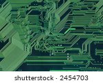 green background with... | Shutterstock . vector #2454703