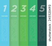 chromatic harmony. color... | Shutterstock .eps vector #245520493