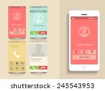 mobile calling interface design ...