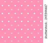 heart pattern icon great for... | Shutterstock .eps vector #245544667