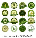 big collection of colorful... | Shutterstock . vector #245663413