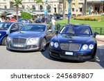 Постер, плакат: British luxury cars Bentley
