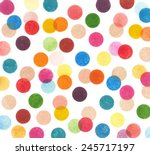 Colorful Distressed Dots ...