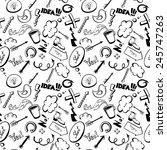 hand drawn creative texture   Shutterstock .eps vector #245747263