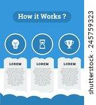 cloud infographic concept vector