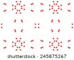 ethnic pattern. abstract... | Shutterstock . vector #245875267