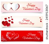 happy valentines day. 14... | Shutterstock .eps vector #245913067