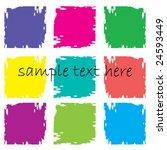 grunge frame and border series | Shutterstock .eps vector #24593449