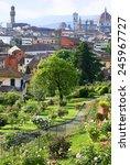 Stock photo florentine garden of roses gardino delle rose 245967727