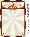 vintage background circus... | Shutterstock .eps vector #246010177