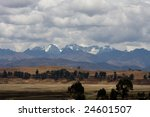 mountains view  andes  peru | Shutterstock . vector #24601507