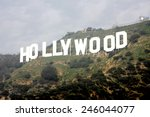 los angeles   jan 20  ... | Shutterstock . vector #246044077