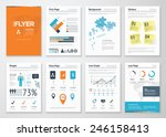 infographic corporate elements... | Shutterstock .eps vector #246158413