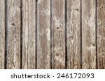 Old Planks Of Garden Shed With...