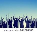 celebration education... | Shutterstock . vector #246220603