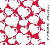 valentine      s day conceptual ... | Shutterstock .eps vector #246235117