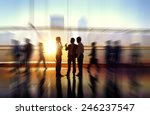 business people meeting seminar ... | Shutterstock . vector #246237547