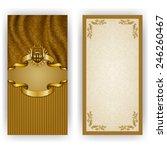 elegant template for luxury...   Shutterstock .eps vector #246260467