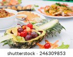 set of thai food popular menu | Shutterstock . vector #246309853