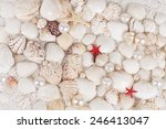 Background From Seashells With...