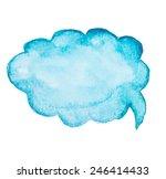 watercolor  aquarelle ... | Shutterstock .eps vector #246414433